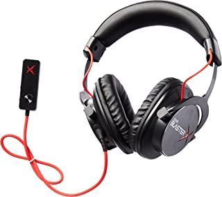 Creative Sound BlasterX H7 Tournament Edition HD 7.1 - Auriculares de diadema para videojuegos
