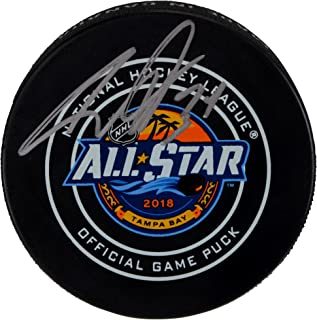 Auston Matthews Toronto Maple Leafs Autographed 2018 NHL All-Star Official Game Puck - Fanatics Authentic Certified