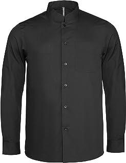 énorme réduction 1a18d 75f65 Amazon.fr : chemise col mao homme - Chemises casual ...