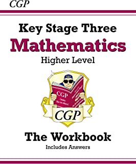 KS3 Maths Workbook (with answers) - Higher (CGP KS3 Maths)
