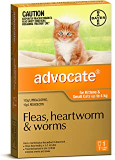 Advocate for Kittens and Small Cats up to 4kg, 1 Pack