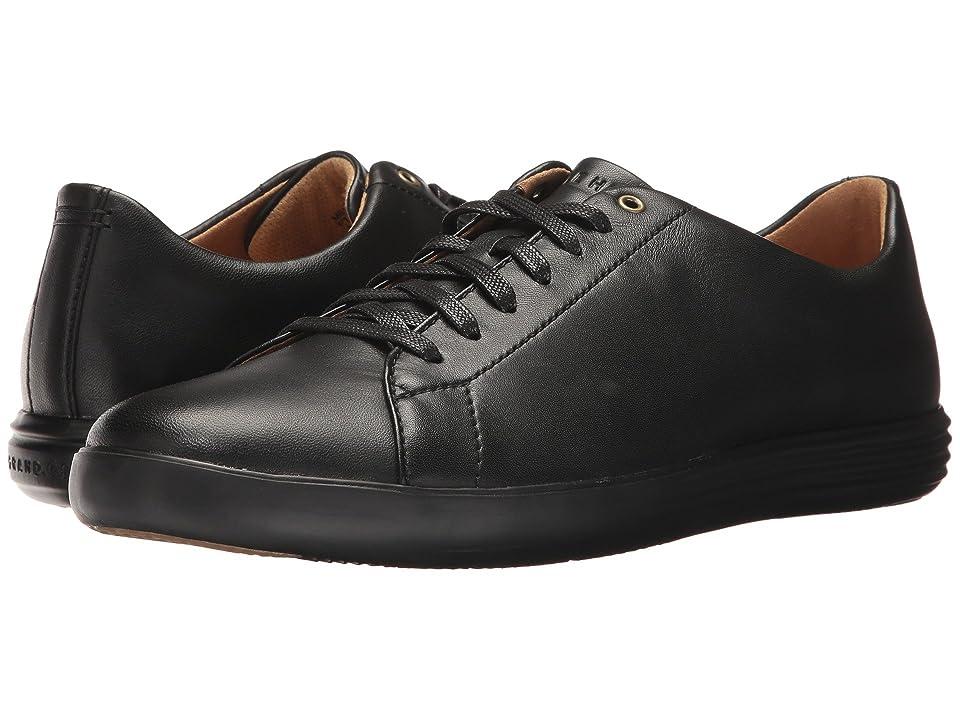 Cole Haan Grand Crosscourt II (Black Leather/Black) Men