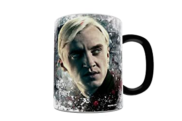 Morphing Mugs Harry Potter (Draco) Ceramic Mug, Black