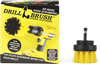 Power Drill Attachment Scrub and Cleaning Brush for Cleaning Bathroom Surfaces, Tile and Grout, Hard Water Stains, Rust an...