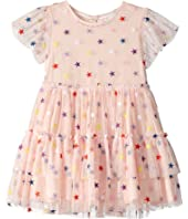 Stella McCartney Kids - Embroidered Stars Tulle Dress (Toddler/Little Kids/Big Kids)