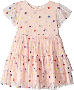 Embroidered Stars Tulle Dress (Toddler/Little Kids/Big Kids)