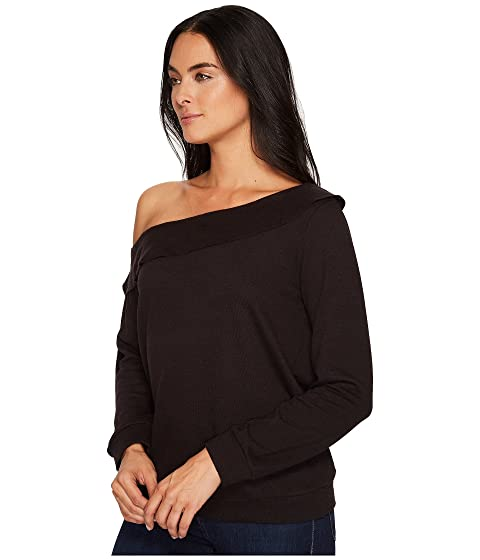 Pullover Shoulder Ruffle Off Top Lanston w6tx5a1qq