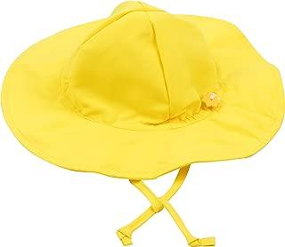 Leveret Baby Girls Brim Sun Protection Swim Hat (Size 3 Months-4 Toddler)