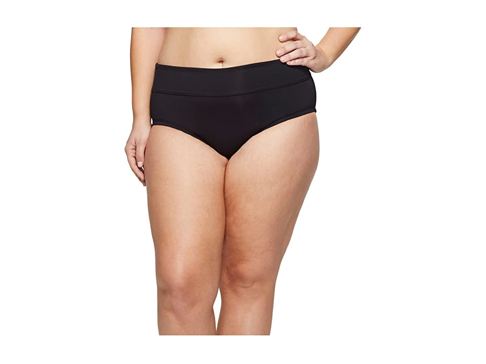 Nike Plus Size Full Bottom (Black) Women