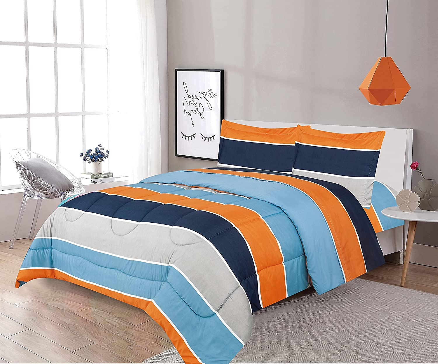 Max 50% OFF LinenTopia 7 Piece Queen 55% OFF Size Comforter Set Bag S w Shams Bed in