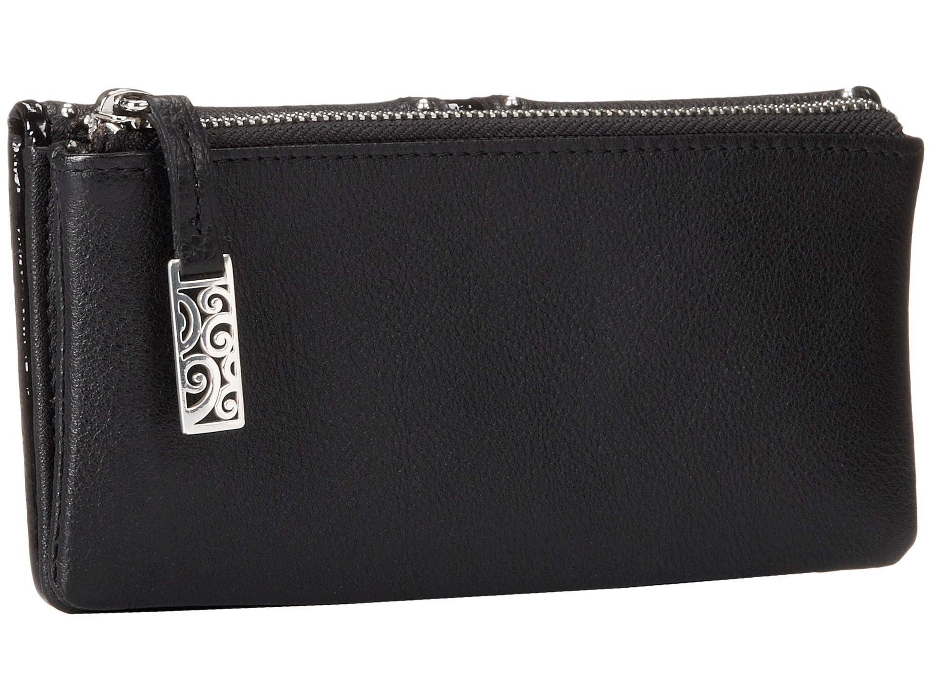 Brighton Large Pretty Wallet Tough Black HHCwTq