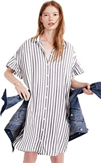 madewell courier stripe shirt