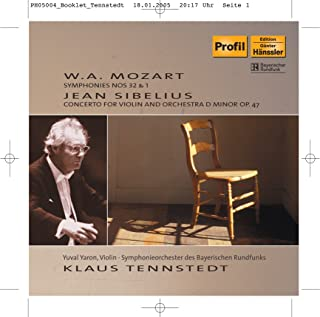 Mozart: Symphony No. 1 and 32 / Sibelius: Violin Concerto, Op. 47