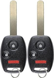 KeylessOption Keyless Entry Remote Control Car Key Fob Replacement for CWTWB1U545 (Pack of 2)