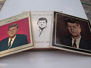 John F. Kennedy 2 Vinyl Record Albums John Fitzgerald Kennedy: The Presidential Years 1960-1963 and John Fitzgerald Kennedy: A Memorial Album