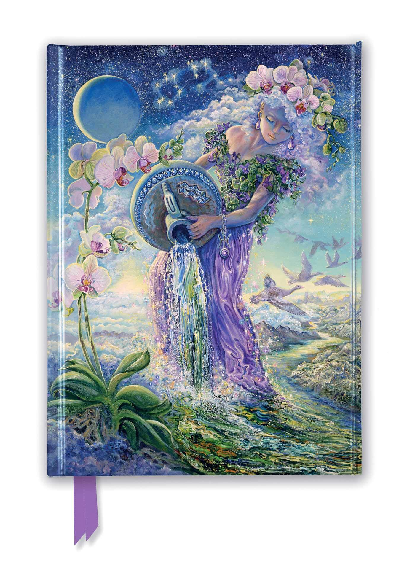 Download JOSEPHINE WALL AQUARIUS (FOILE (Flame Tree Notebooks)