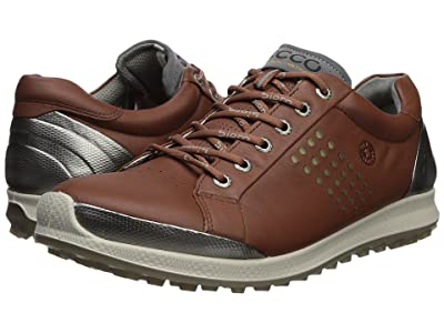 ECCO Golf Biom Hybrid 2 Hydromax(r) (Mahogany/Oyster) Men