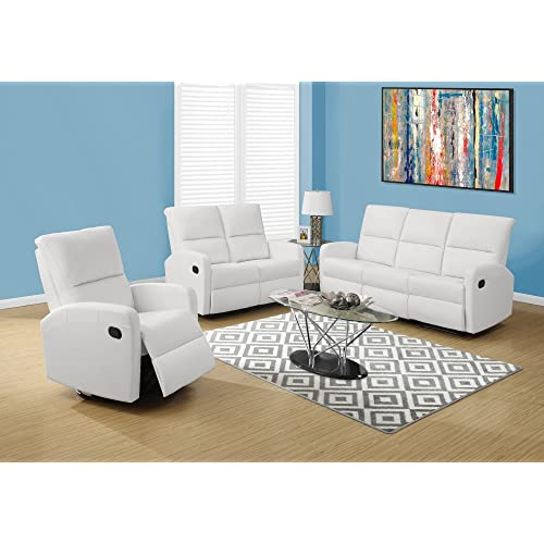 Surprising White Leather Recliner Sofas Amazon Com Gmtry Best Dining Table And Chair Ideas Images Gmtryco