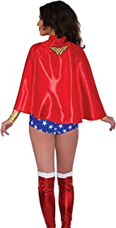 Costume Co Women's Dc Superheroes Wonder Woman Cape
