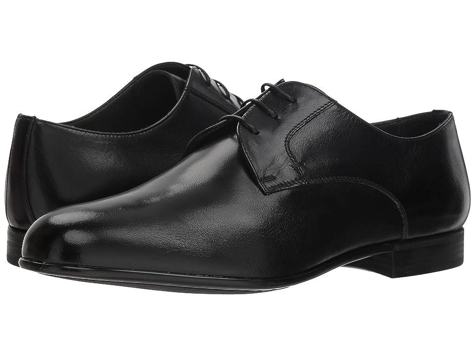 Canali Plain Toe Oxford (Black) Men
