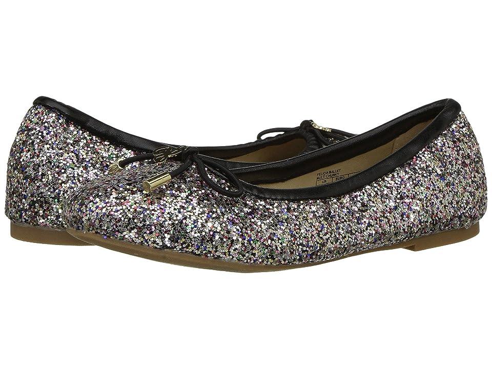Circus by Sam Edelman Kids Felicia Ballet (Little Kid/Big Kid) (Black Multi Chunky Glitter) Girls Shoes