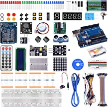 kuman Complete Starter Kit with Detailed Tutorial and Reliable Components for Arduino..