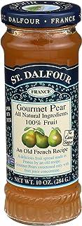 St Dalfour, Fruit Spread Gourmet Pear, 10 Ounce