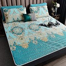 Summer Sleeping mat Sheets, Natural ice Silk Latex mat Three-Piece Set, Tencel Tatami, Summer Washed Latex ice Silk mat Mi...