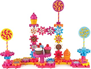 Learning Resources Gears! Gears! Gears! Sweet Shop, Gears Toy, Building Set, 82 Pieces, Ages 4+