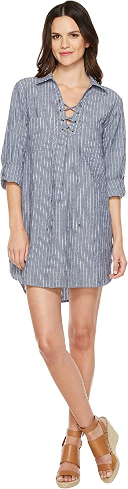 Brigitte Bailey - India Denim Striped Dress