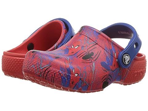 8d4baec2fa3d Crocs Kids Fun Lab Spiderman Graphic Clog (Toddler Little Kid) at 6pm