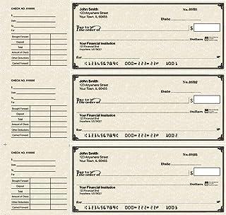 Deskset Personal Checks (300 Single Checks, Parchment)