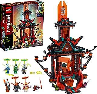 LEGO 71712 NINJAGO Empire Tempel des Unsinns, Bauset mit 6 M