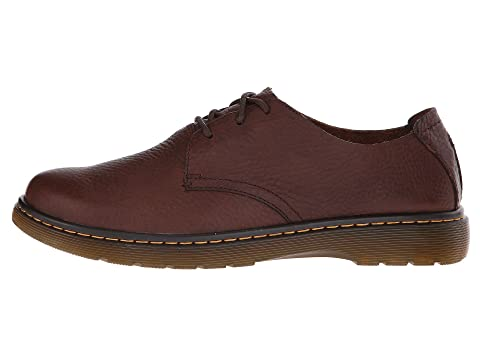 Discount Sast Free Shipping Best Dr. Martens Elsfield 3-Eye Shoe Dark Brown Grizzly Discounts Clearance 2018 Sale Brand New Unisex Rpgd9