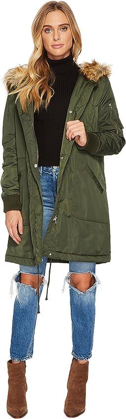BB Dakota Emmers Hooded Anorak Coat
