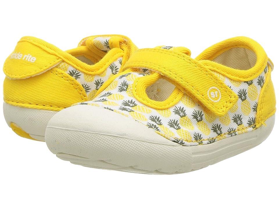Stride Rite Soft Motion Hannah (Infant/Toddler) (Yellow Pineapple) Girl