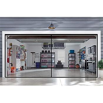 Amazon Com Jobar Double Garage Door Screen Home Pest Control Traps Garden Outdoor
