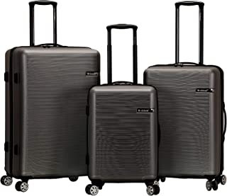 Rockland Skyline Hardside Spinner Wheel Luggage Set
