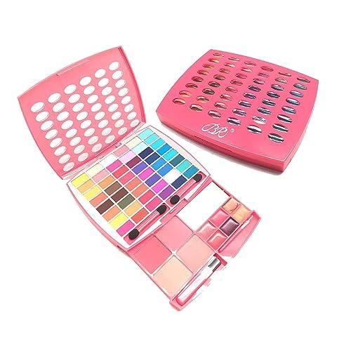 BR Makeup Kit, Glamur Girl Kit, 48 Eyeshadow / 4 Blush / 6 Lip
