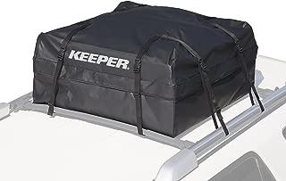 Keeper 07202 Black Waterproof Rooftop Cargo Bag (11 Cubic Feet)