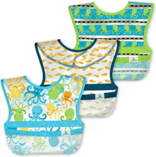 Green Sprouts - Snap & Go Wipe-Off Bibs