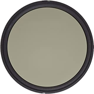 Heliopan 77mm Variable Gray Neutral Density Filter (707790) with specialty Schott glass in floating brass ring