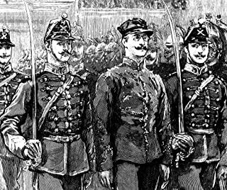 Alfred Dreyfus (1859-1935) Nfrench Army Officer Dreyfus Stripped Of His Rank Being Paraded In Front Of The Troops After Hi...