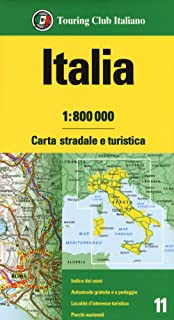 Cartina Stradale Italia Nord Est.Amazon It Carte Stradali Italia
