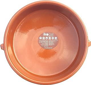 23 cm Four//Gaz//Microondes//Vitro cassole Diam CTB Plat en Terre Cuite Rond 5 cm Haut 4 /à 6 pers