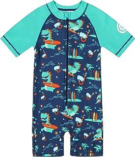 Miniatree Toddler Boy Girl Swimsuit One-Piece Swimwear SPF 50+ UV Sun Protection