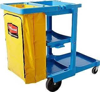 Rubbermaid Commercial Xtra Utility Cart, Blue, FG617388BLUE