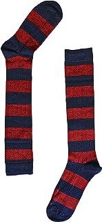 naive, RUG34L Calcetines altos, Rojo (Marino/Burdeos 34), 43/46 (Tamaño del fabricante:G) para Hombre