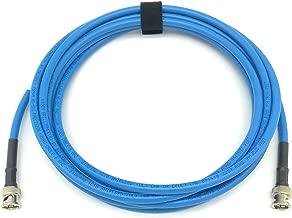 25ft AV-Cables 3G/6G HD SDI BNC Cable- Belden 1694a RG6 - Blue