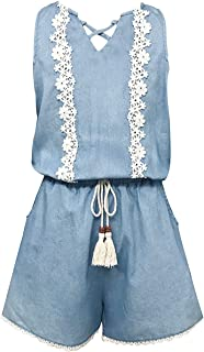 7006bdef1187 Amazon.com  Big Girls (7-16) - Jumpsuits   Rompers   Clothing ...